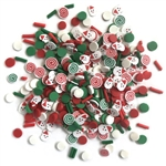 Buttons Galore - Sprinkletz Embellishment Pack Saint Nick