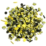 Buttons Galore - Sprinkletz Embellishment Pack Bumble Bees