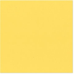 Bazzill - 12x12 Smooth Cardstock Banana Bliss