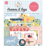 Carta Bella - Summer Cardstock Ephemera Frames & Tags