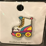 Doodlebug - Collectible Pin Let's Skate
