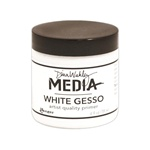 Dina Wakely Media - White Gesso 4 oz
