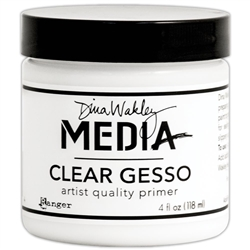 Dina Wakely Media - Clear Gesso 4 oz