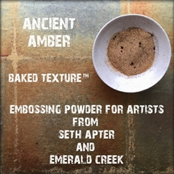 Emerald Creek - Baked Texture Embossing Powder Ancient Amber