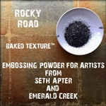 Emerald Creek - Baked Texture Embossing Powder Rocky Road