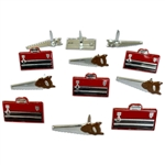 Eyelet Outlet - Saw & Toolbox 12/Pkg
