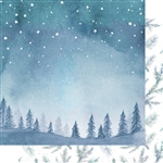 Kaisercraft - Whimsy Wishes 12X12 Night Sky