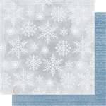 Kaisercraft - Whimsy Wishes 12X12 Snowfall