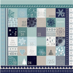 Kaisercraft - Wonderland Specialty Paper Foil Advent