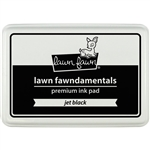 Lawn Fawn - Premium Ink Pad Jet Black - alcohol marker friendly!