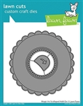 Lawn Fawn - Magic Iris Scalloped Add-On Die Set