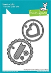 Lawn Fawn -Scalloped Circle Gift Tag Lawn Cuts