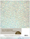Lawn Fawn - Metallic Cardstock Holographic