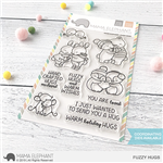 Mama Elephant - Fuzzy Hugs Stamp Set