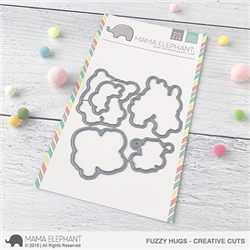 Mama Elephant - Fuzzy Hugs Creative Cuts
