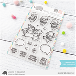 Mama Elephant - Snow Much Fun Stamp Set