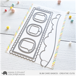 Mama Elephant - Slim Card Basics Creative Cuts
