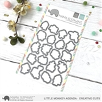 Mama Elephant - Little Monkey Agenda Creative Cuts