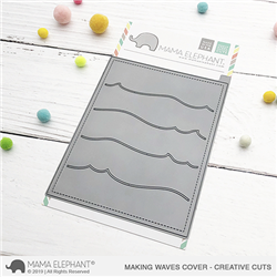 Mama Elephant - Making Waves Cover Creative Cuts