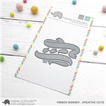 Mama Elephant - Ribbon Banner Creative Cuts
