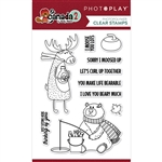Photoplay - Oh Canada Moose Stamp Set