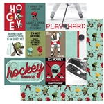 Photoplay - The Hockey Life Double-Sided Cardstock 12X12 Play Hard