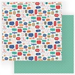 Photoplay - Living the Quarantine Life 12x12 Double-Sided Patterned Paper Stay Safe