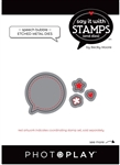 Photoplay - Say It With Stamps Speech Bubbles Die Set
