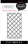 Photoplay - Say It With Stamps #6 Quatrefoil Coverplate Die Set