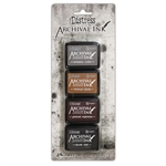 Ranger - Tim Holtz Archival Mini Ink Kit #3