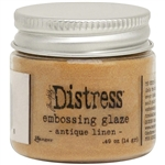 Ranger -  Distress Embossing Glaze Antique Linen