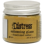 Ranger -  Distress Embossing Glaze Fossilized Amber