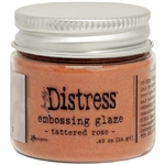 Ranger -  Distress Embossing Glaze Tattered Rose