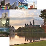 Reminisce - 12X12 Patterned Paper Parliament Hill