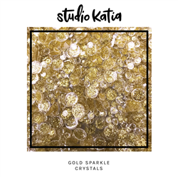 Studio Katia - Crystals Gold Sparkle