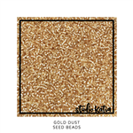 Studio Katia - Seed Beads Gold Dust