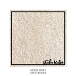Studio Katia - Seed Beads Snow Dust