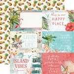 Simple Stories - Simple Vintage Coastal Double-Sided Cardstock 4x6 Elements
