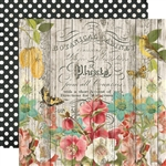 Simple Stories - Simple Vintage Cottage Fields Double-Sided Cardstock 12X12 Natural Beauty