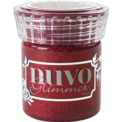 Tonic - Nuvo Glitter Glimmer Paste Garnet Red