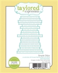 Taylored Expressions - Simple Strips Die