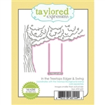 Taylored Expressions - In The Treetops Edger & Swing Die Set
