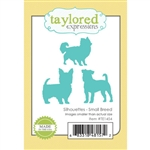 Taylored Expressions - Silhouettes, Small Breed Die Set