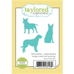 Taylored Expressions - Silhouettes, Large Breed Die Set
