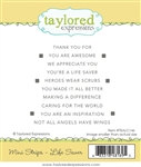 Taylored Expressions - Mini Strips Stamp Set Life Saver
