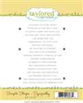 Taylored Expressions - Simple Strips Stamp Set Sympathy