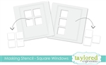 Taylored Expressions - Masking Stencils Square Windows