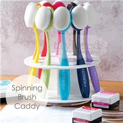 Taylored Expresssions - Blender Brush Spinning Storage Caddy