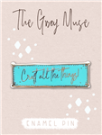 The Gray Muse - Craft All The Things Magnet Pin (Turquoise)