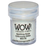 Wow! Embossing Powder Sparkling Snow Glitter 15 ml